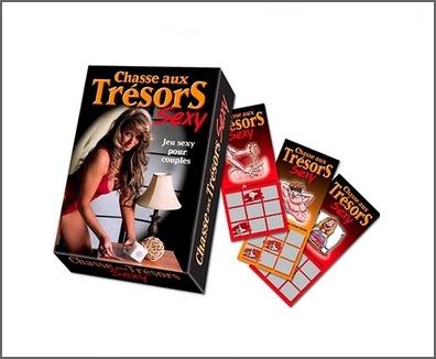 Carte aux trésors sexe