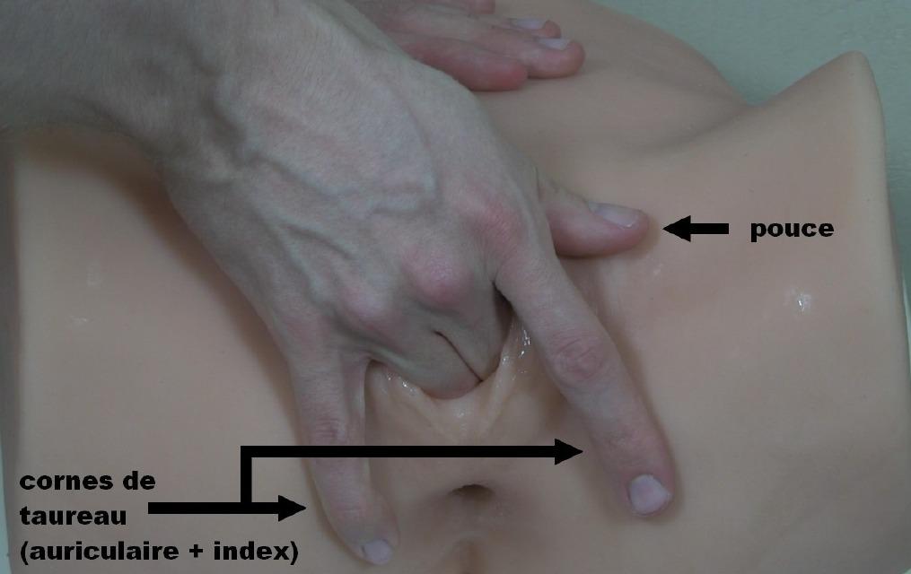 Le placement de vos doigts messieurs (masturber une femme)