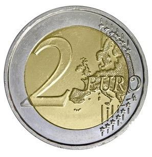 Le point G comparé à une pièce de deux euros